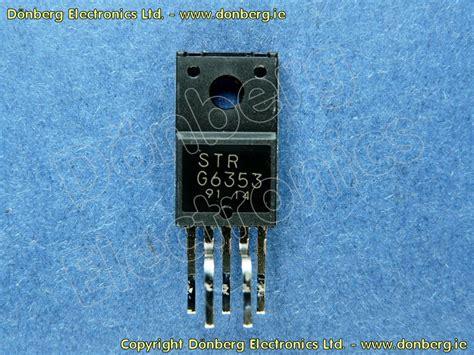 Regulator Tv Panasonic semiconductor strg6353a strg 6353a voltage regulator panasonic