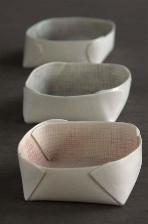 How To Make Clay Out Of Paper - bowls i m not sure if these are made out of paper or what