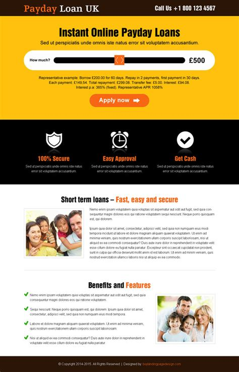 1200 Beautiful Landing Page Templates Design For Conversion And Sales Loan Website Templates