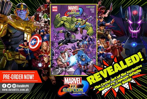 Kaset Ps4 Marvel Vs Capcom Infinite Comic Book datablitz on quot pre order marvel vs capcom infinite for ps4 at your favorite datablitz