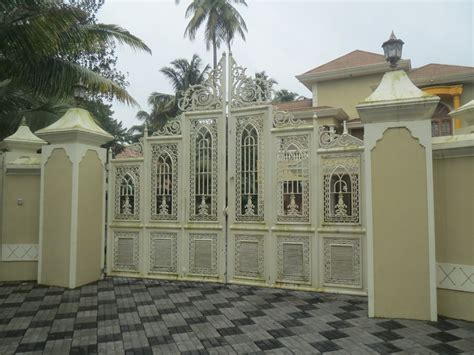 design of gate for house kerala gate designs kerala house gate designs