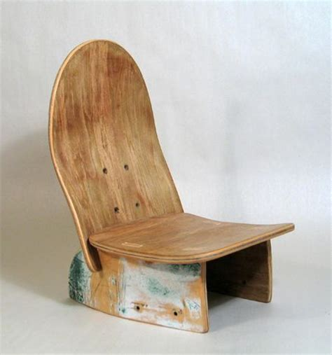 skateboard chairs skateboard chair definitely gonna have aaron make this