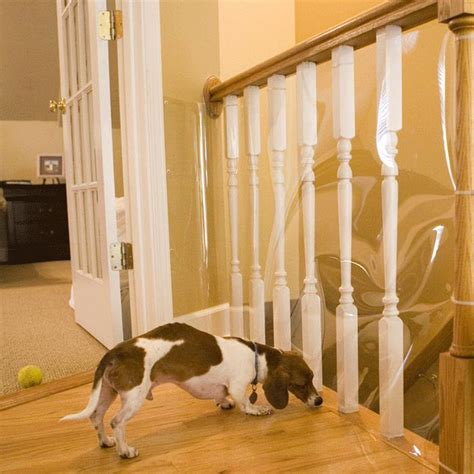 indoor banister cardinal gates indoor banister shield protector pet safety