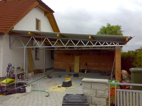 carport nach maß feathered herringbone