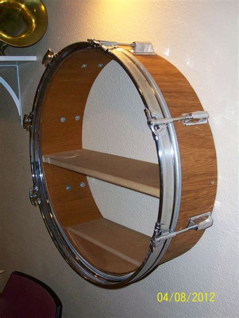Drum Shelf by 9 Ways To Reuse Drums Green Living