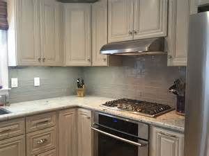 subway tile kitchen backsplash you think gray