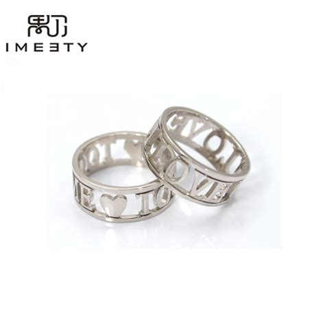 Handcrafted Engagement Ring - aliexpress buy imeety personalized ring handmade