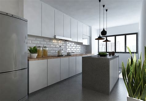 hdb kitchen design renovation contractor renovation singapore