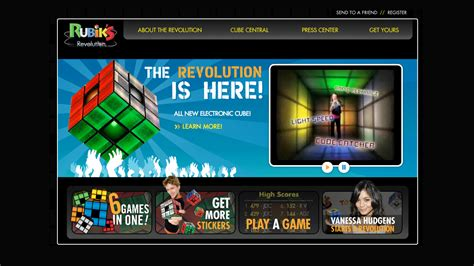 Rubiks Revolution Interactive As A rubik s revolution going interactive creative digital