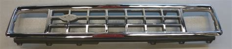 1983 1988 ford bronco ii and ranger grill chrome argent