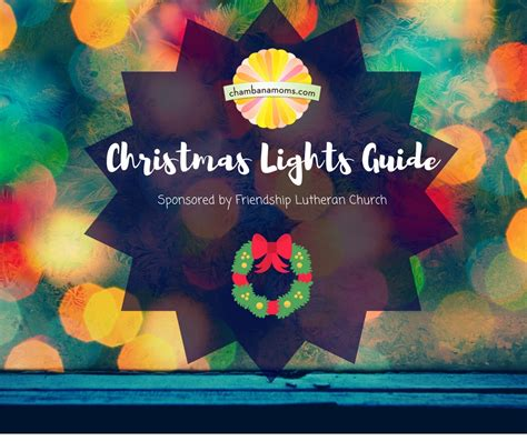 chaign urbana area christmas lights guide