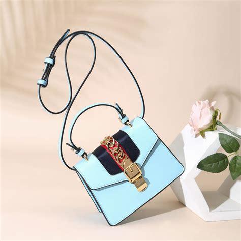 Sale Tas Import Harga Promo Buy 1 Get 1 Free Souvenir jual tas branded gc sylvie semi premium 20 cm light blue