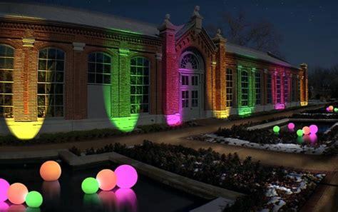 Missouri Botanical Garden Set To Glow During Holiday Garden Glow Botanical Gardens