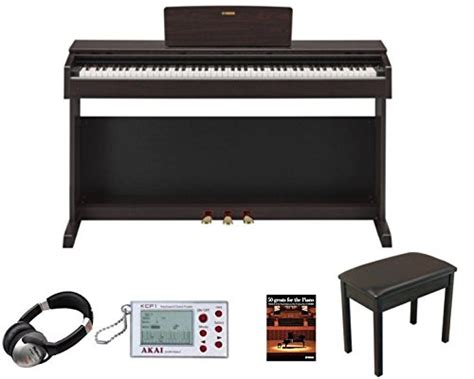 yamaha ydp  rosewood digital piano package including