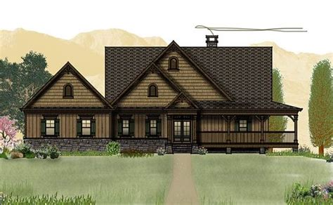 mountain home plans with walkout basement mountain house plans wraparound porch and mountain houses on pinterest