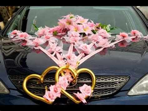 indian car decoration of cars in wedding