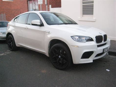 bmw x6 black rims bmw x6 m in white with black wheels 3 madwhips