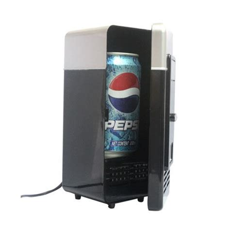 usb black mini desk fridge drink warmer for laptop pc