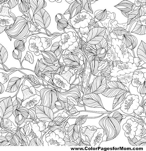 leaves coloring pages for adults advanced leaves coloring page 28