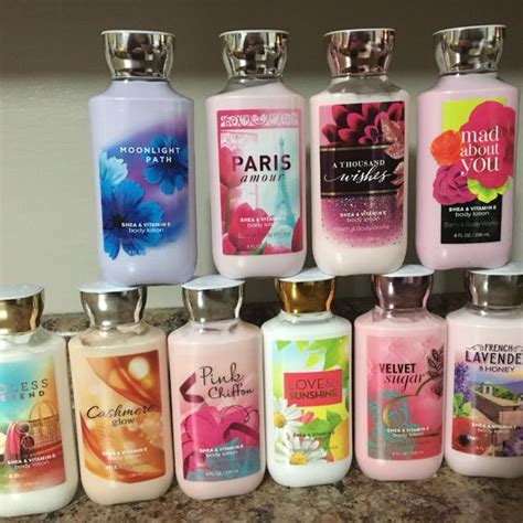 bed bath and bodyworks best new bath body works 8oz body lotions 10