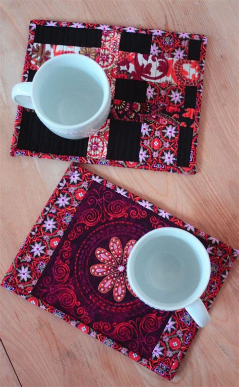 Fast Quilting Projects Pot Holders Mug Rugs Pincushions - 742 best images about mug rugs pot holders on