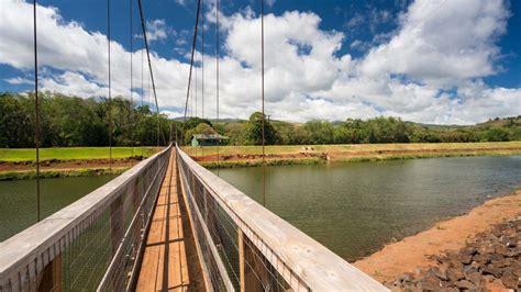 swinging bridge kauai hanapepe swinging bridge things to do on kauai