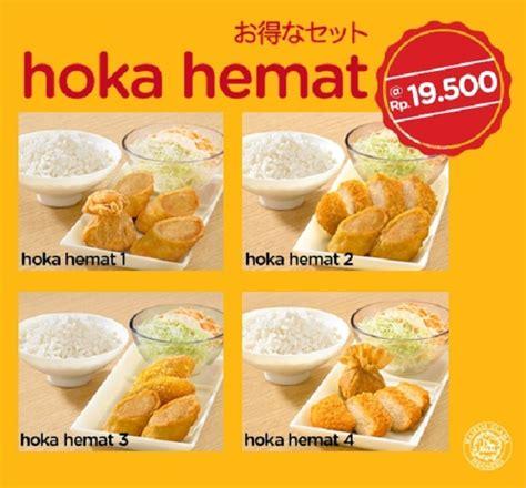 Paket Hemat 19 by Hoka Hoka Bento Promo Hoka Hemat Hanya Rp 19 500