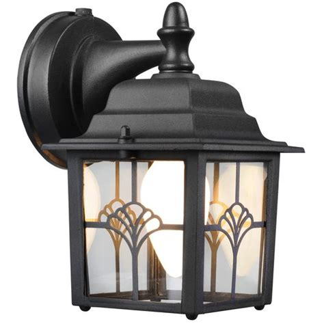 Hton Augustine Lantern Dusk To Dawn Activated Outdoor Outdoor Lighting Walmart