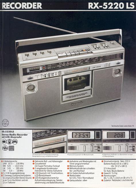 1980 1981 Audio Radios And Audio 1980 1981 panasonic audio and tech