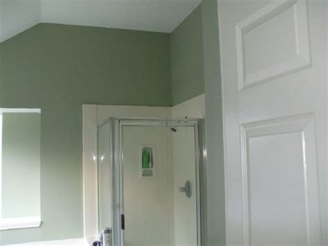 sw softened green room with a hue