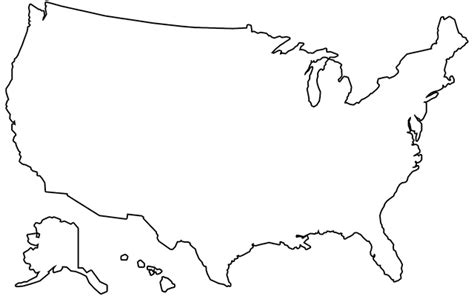 usa map drawing us map outline 183 free image on pixabay