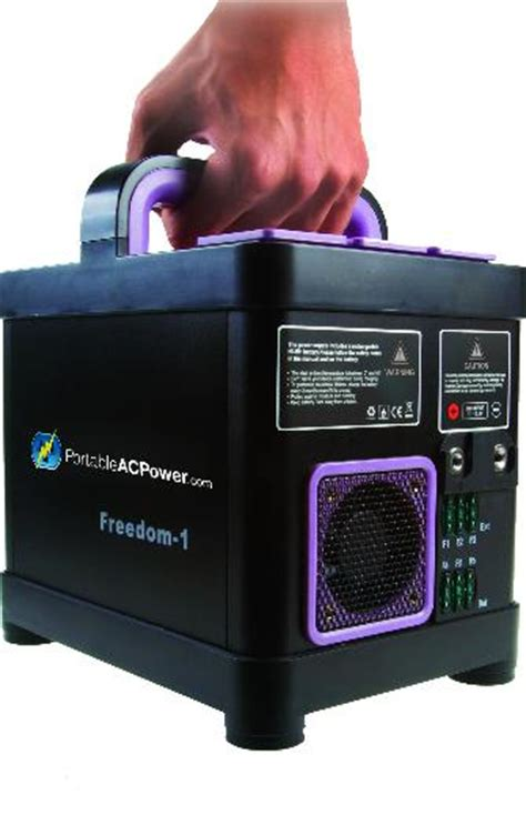 Ac Portable Di Electronic Solution freedom 1 portable ac power solution