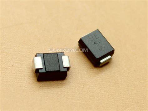 eft tvs diode tvs diode 12v smbj12ca 4611 sunrom electronics technologies