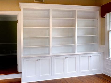 custom made home office built in bookcases by stuart home