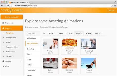 free flash banners templates for websites website banner maker best business template