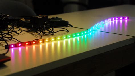How To Get Started With Programmable Rgb Led Strip Led Lights Projects