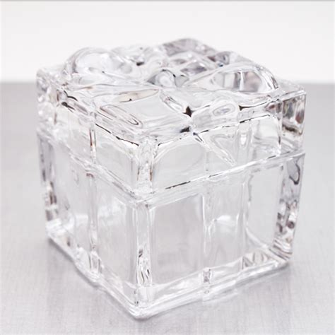 Crystal Box Trinket Box with Lid   Bridal Shower Favors   Wedding Favors   Wedding Favors