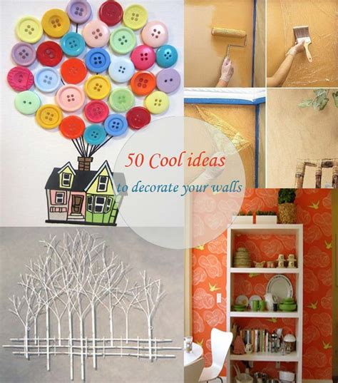 how to decorate the walls of your bedroom 50 cool ideas to decorate your walls my desired home