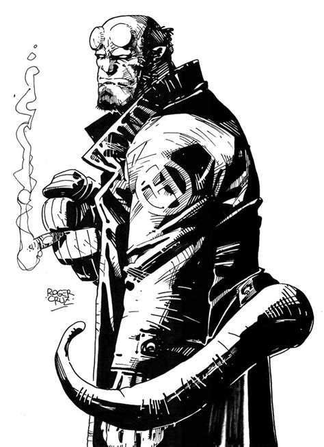 Kaos Hellboy White 1 hellboy by grifther on deviantart