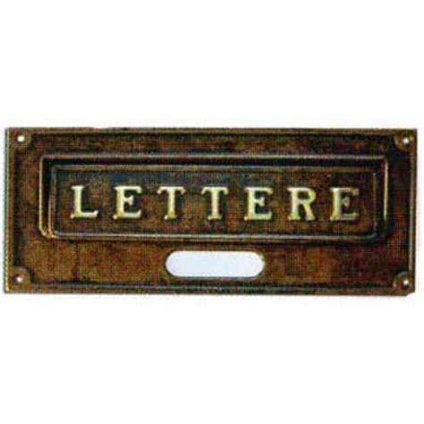 buca per lettere buca lettere ottone a6 alubox