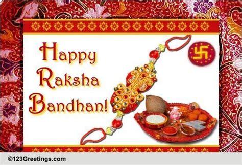free printable rakhi greeting cards for your brother miles away on rakhi free happy raksha