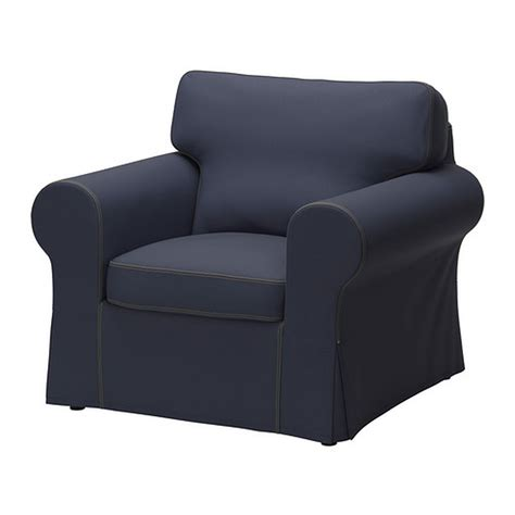 Armchair Seat Covers by Ektorp Armchair Cover Chair Slipcover Jonsboda Blue Denim