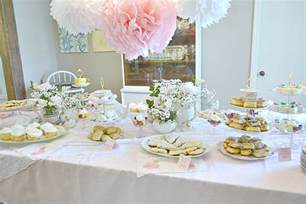 April Joy Home Decor And Furniture fawn over baby southern chic tea party themed baby shower