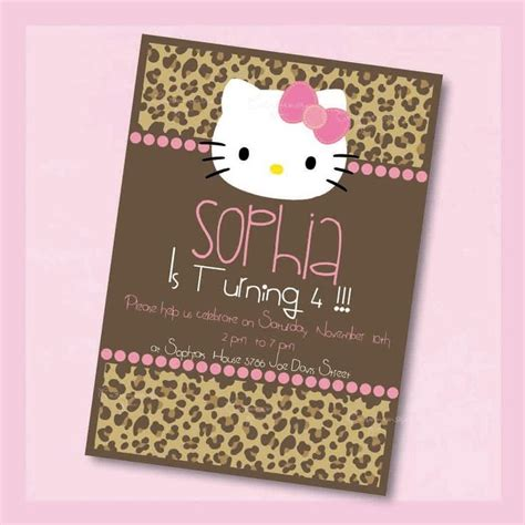 themes line hello kitty leopard 315 best hello kitty party ideas images on pinterest cat