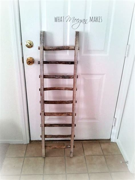 ladder home decor how to hang a vintage ladder as home decor what meegan makes