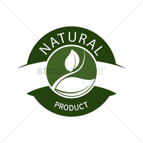 graphic design label making natural product label design vector image 1420515