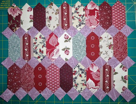 english quilt pattern the quilt yarn english paper piecing project