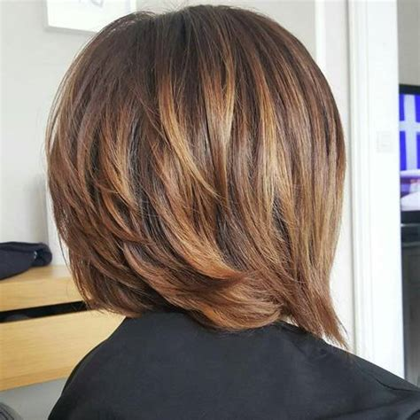 layered bobs with highlights 40 of the best bronde hair options