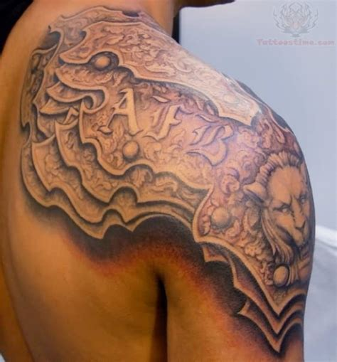 men shoulder tattoo shoulder tattoos for tattoofanblog