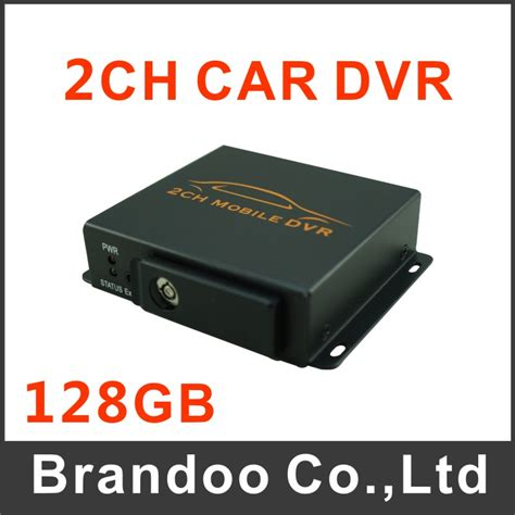 Cctv Recording mini security cctv 2ch dvr realtime sd 128gb card recording mobile vehicle truck car dvr